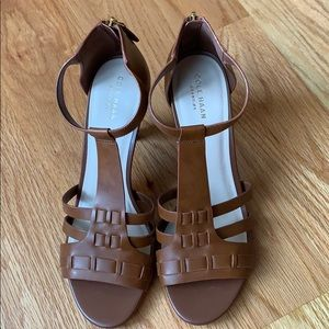 Cole Haan grand O.b strappy heeled sandal